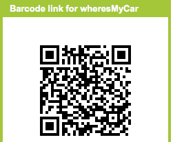 Where's My Car - App Inventor for Android